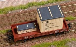 1684 Наполнение товарного вагона (деревянные ящики) - копия