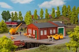 11462 Железнодорожная мастерская с пандусом